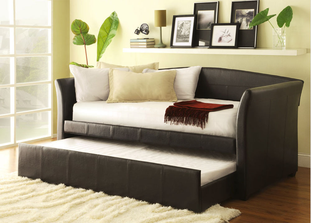 Dark Brown Daybed He956 Urban Transitional