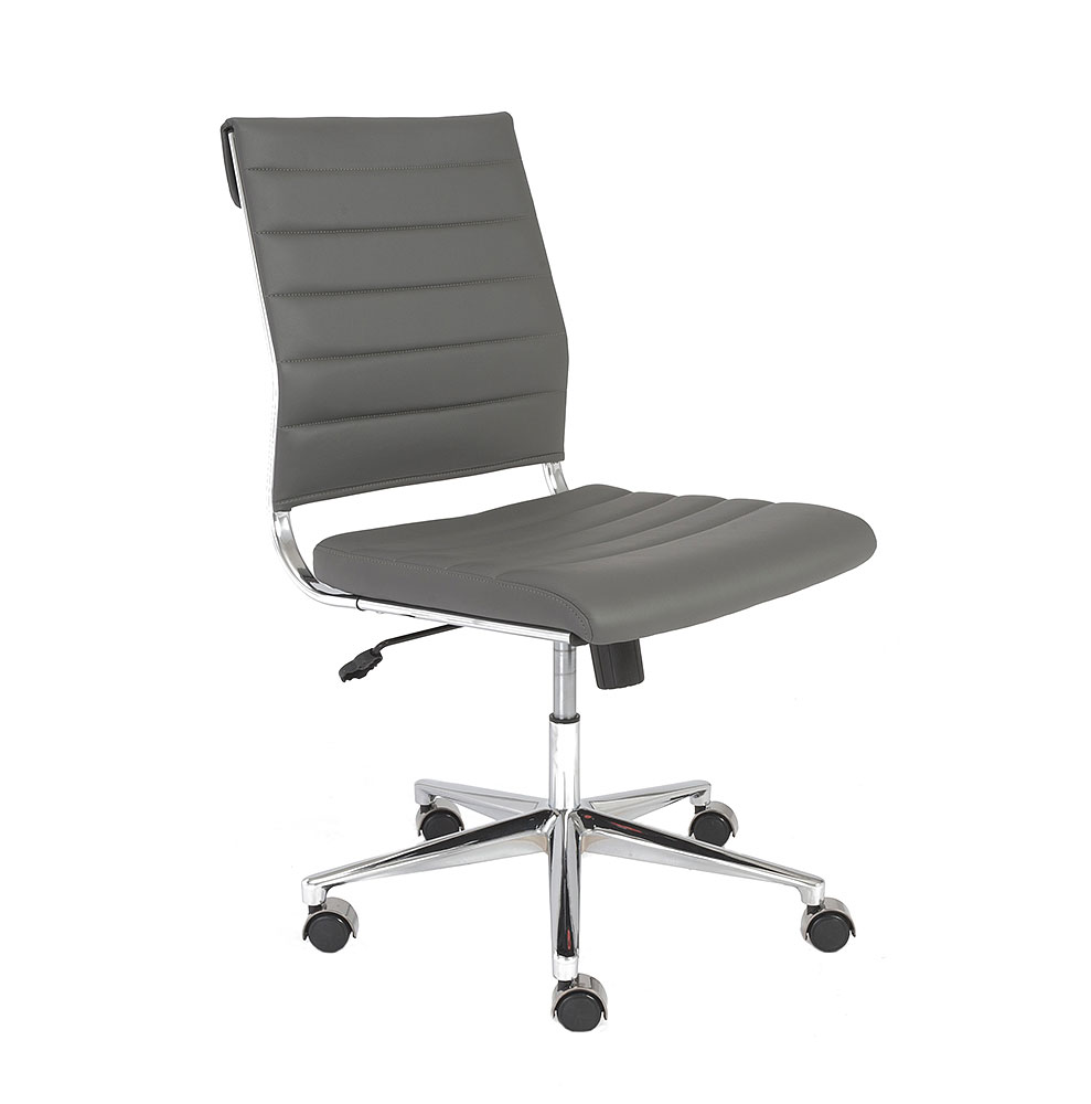 Low Back Armless Office Chairs Bing Images