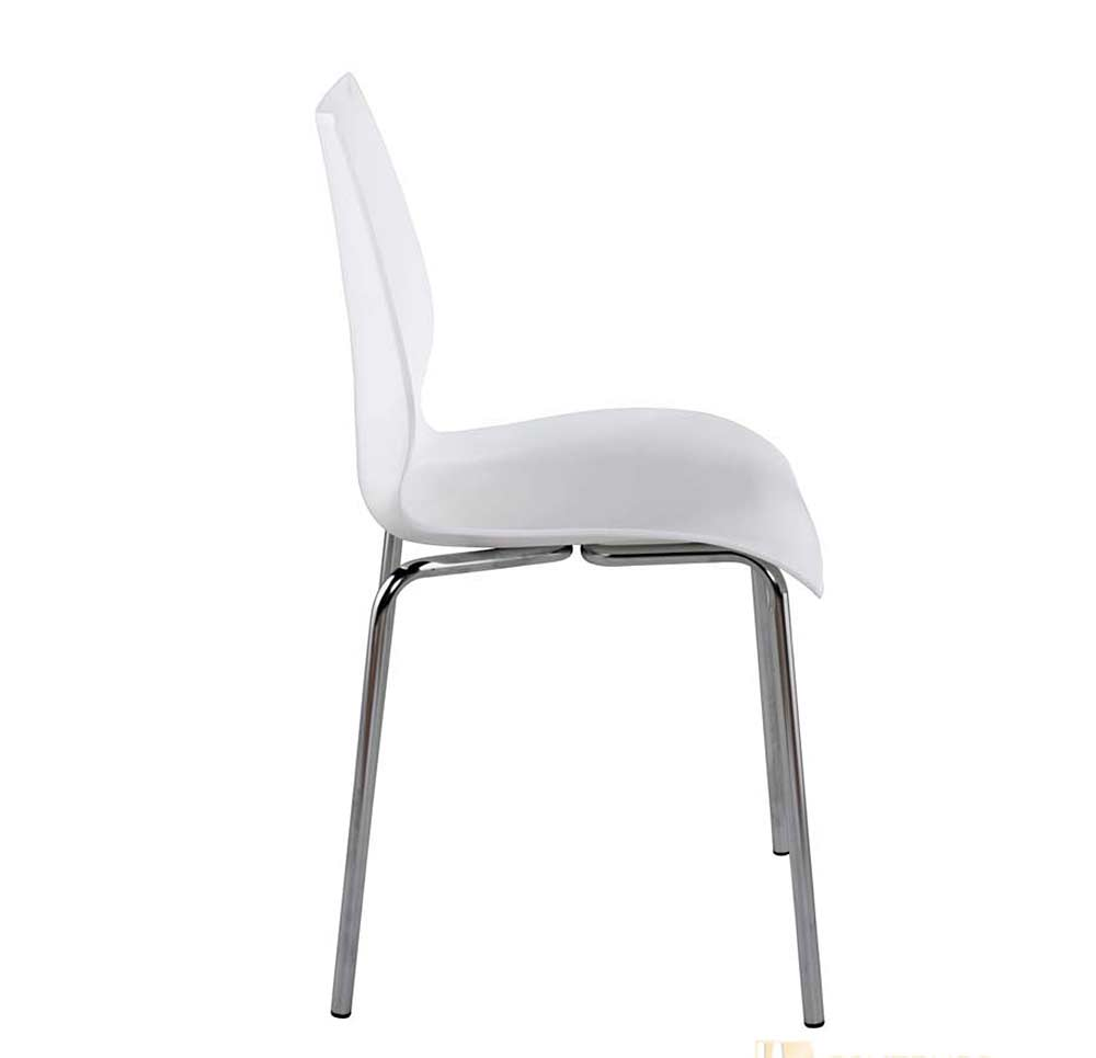 Modern stackable chair estyle 689 modern chairs for Stackable furniture