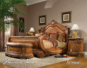 Cortina Sleigh Bed by AICO