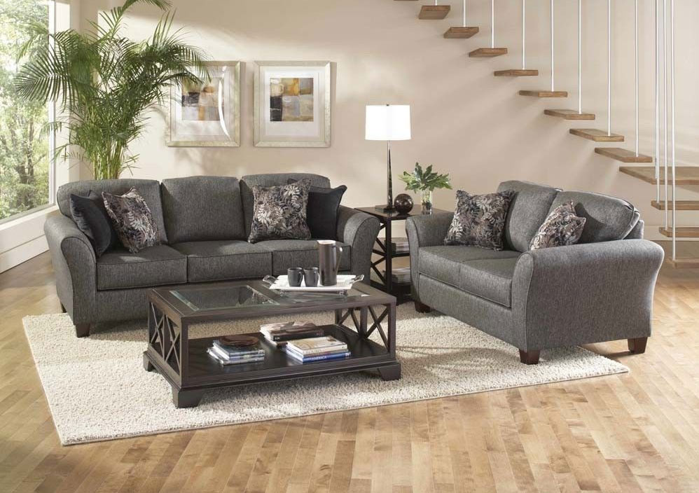 Serta Fabric Sofa Set AC80