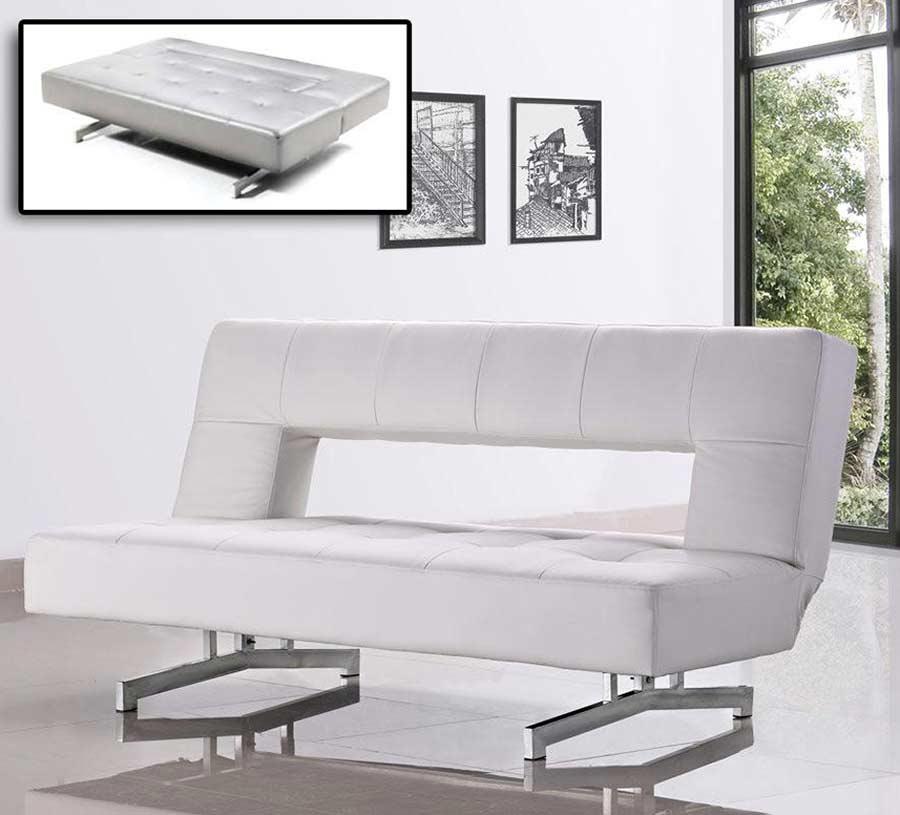 Fold Out Eco Leather Sofa Bed Celio 026 Sofa Beds