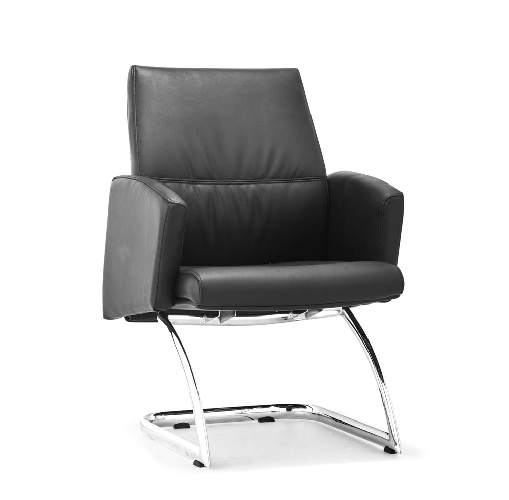 Modern Black Conference Chair Z 090