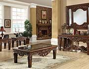 Classic Carved Coffee table HD034