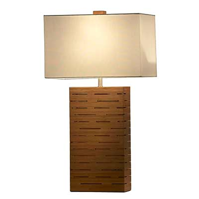 Table lamp with Bamboo Base NL630