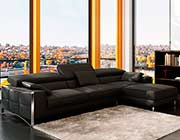 Modern Leather Sectional Sofa VG060