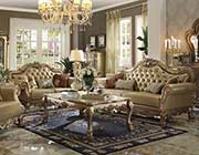 Traditional Sofa AC Delmon