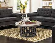 Modern coffee table with Carbon Top AA018