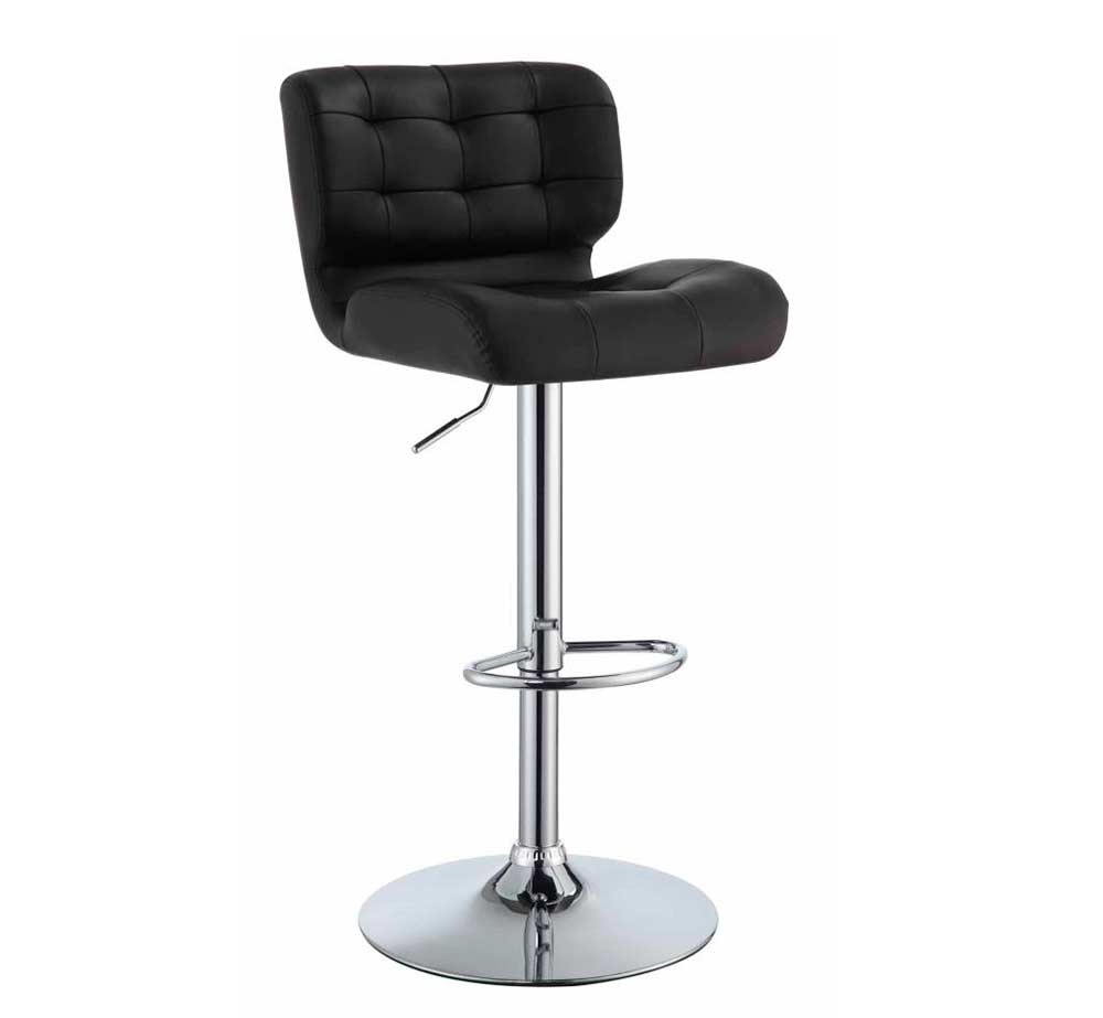Contemporary Adjustable Height Bar Stool Co 545 Bar Stools
