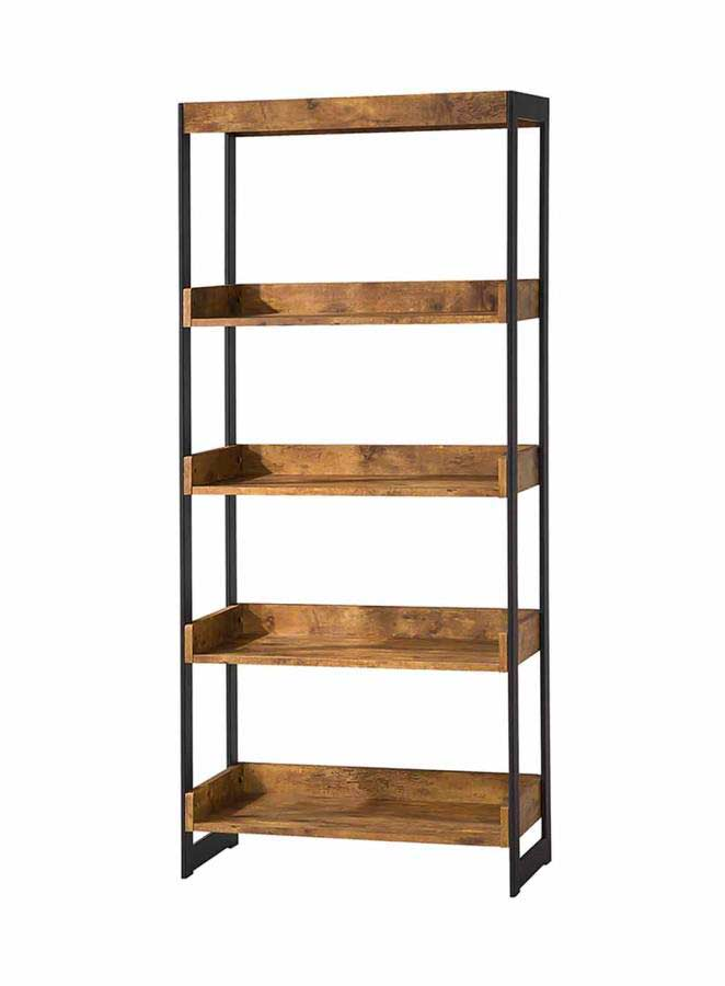 ... Office Bookcases and Shelves >> Antique Nutmeg wood Bookcase CO 657