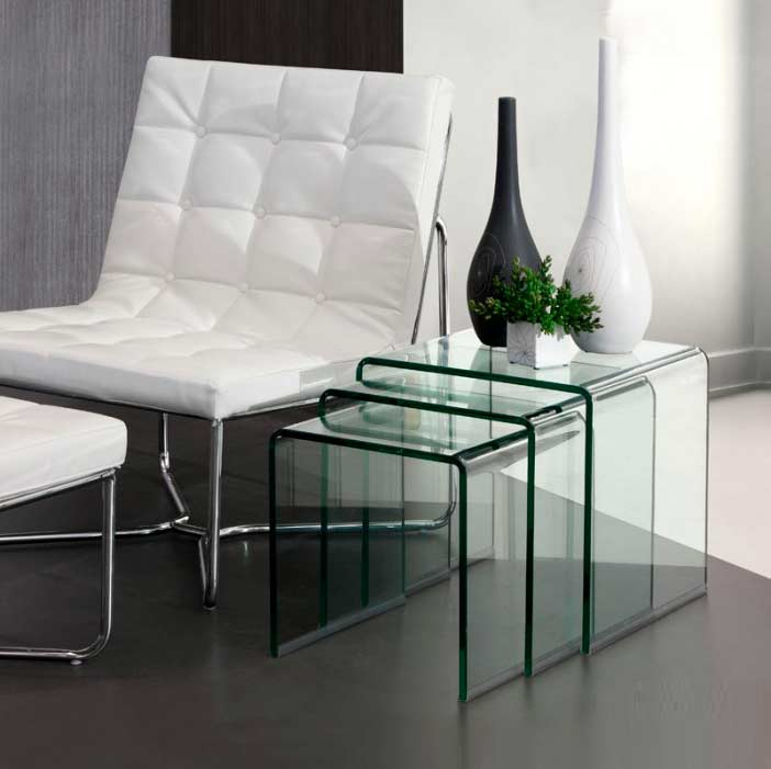 Contemporary Nesting Tables ~ Modern nesting table z contemporary