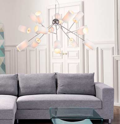 Modern White Ceiling lamp Z215