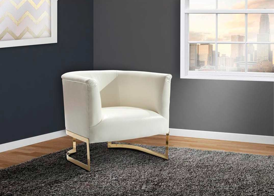 Classic White Accent Chair Decorating Ideas