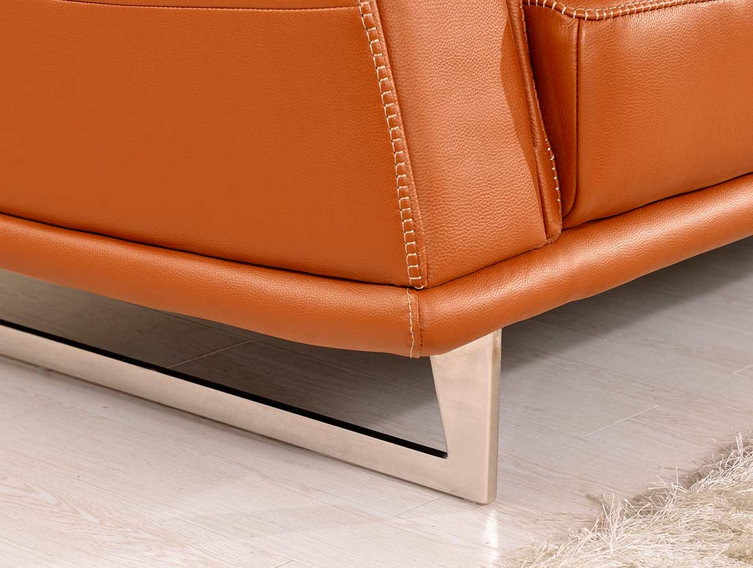 with living home orange leather tan pinterest pin light sofa room couch