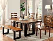Tobacco Oak Dining table FA606