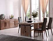 White Wash Oak Dining table VG190