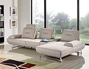 Sand Fabric Sectional Sofa DS 471
