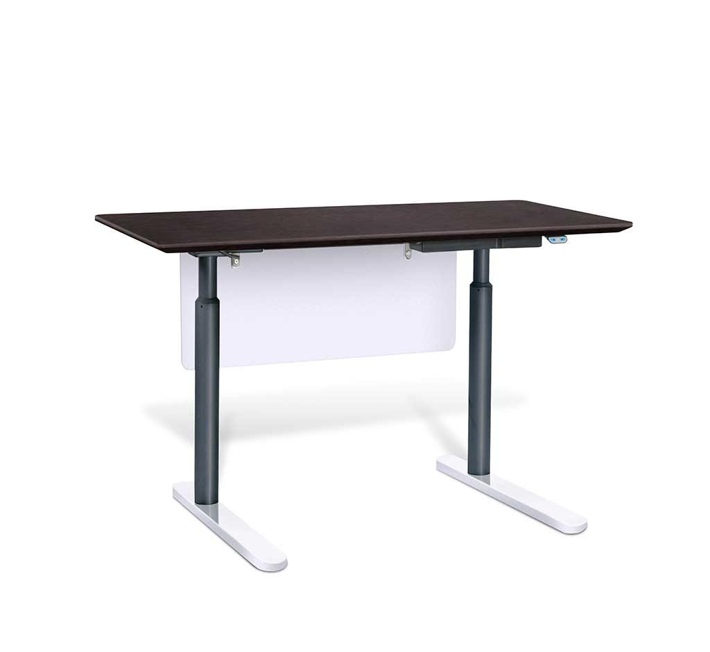 electric stand up desk by unique furniture 7300 esp desks. Black Bedroom Furniture Sets. Home Design Ideas