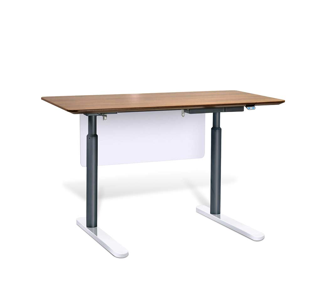Electric stand up desk by unique furniture 7300 esp desks Motorized table