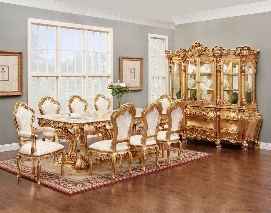 French Provincial Dining Table 702 Classic Dining