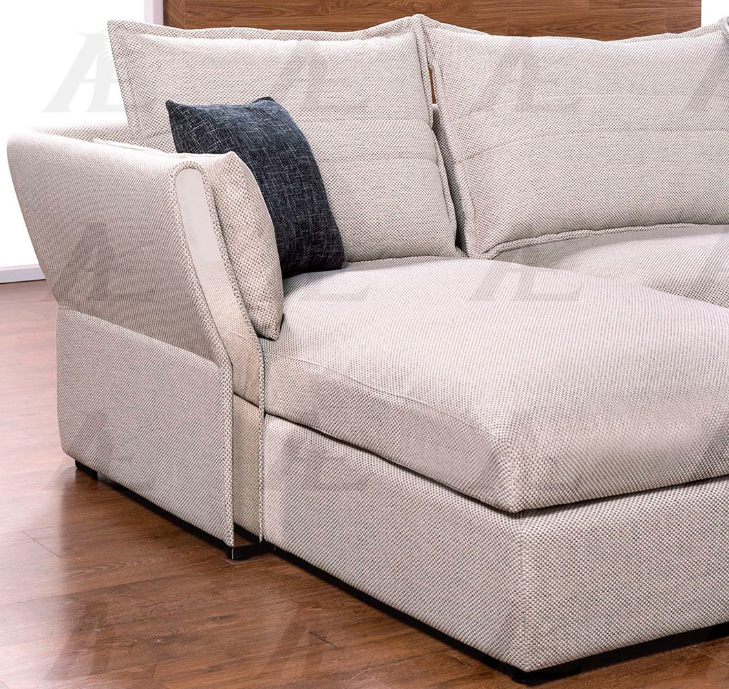 Gray Sectional Sofa AE319 | Fabric Sectional Sofas