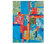 Colorful Hand-tufted Wool Rug FR 112