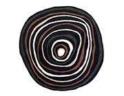 Round Hand-tufted Wool Rug FR 215