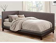 Gray Fabric Day bed HE977