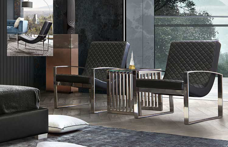 Black Leather Accent Chair Ds Noble, Black Leather Accent Chairs For Living Room