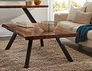 Wood Top Coffee Table MS Riza