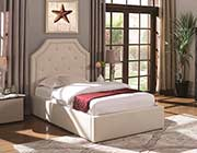 Kids Beige Fabric Storage bed CO 1469