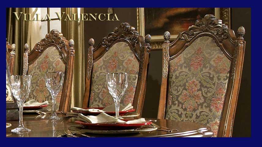 Villa Valencia Dining Set By Aico Room Furniture