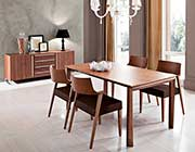Universe Walnut Dining Table by Domitalia