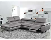 Dark Grey Eco Leather Sectional Sofa VG 188