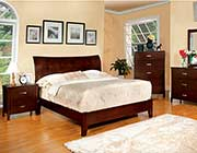 Brown Cherry Curved Bed FA 600