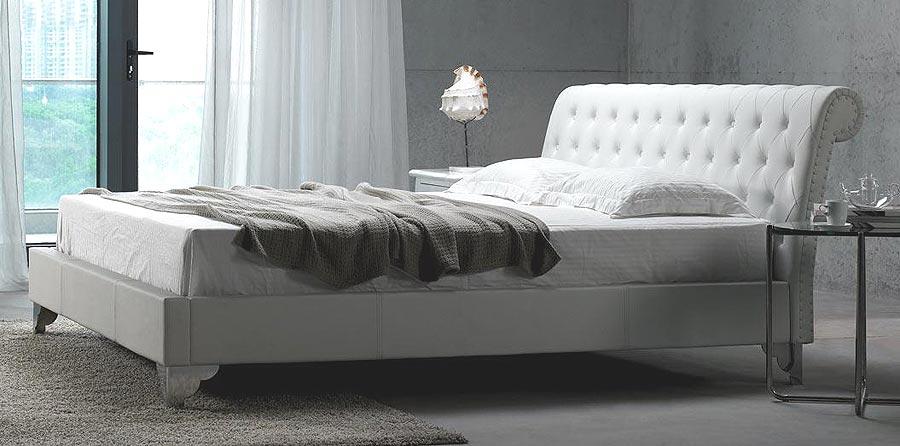 furniture modern bedroom furniture san remo white leath