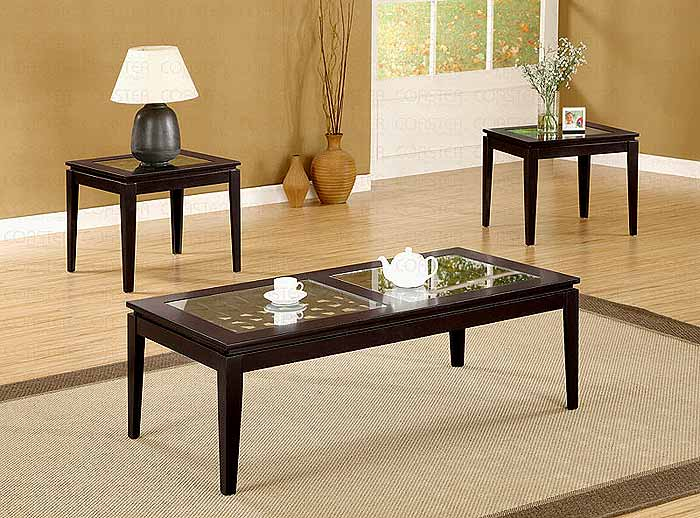 coffee table set cr700205 | classic
