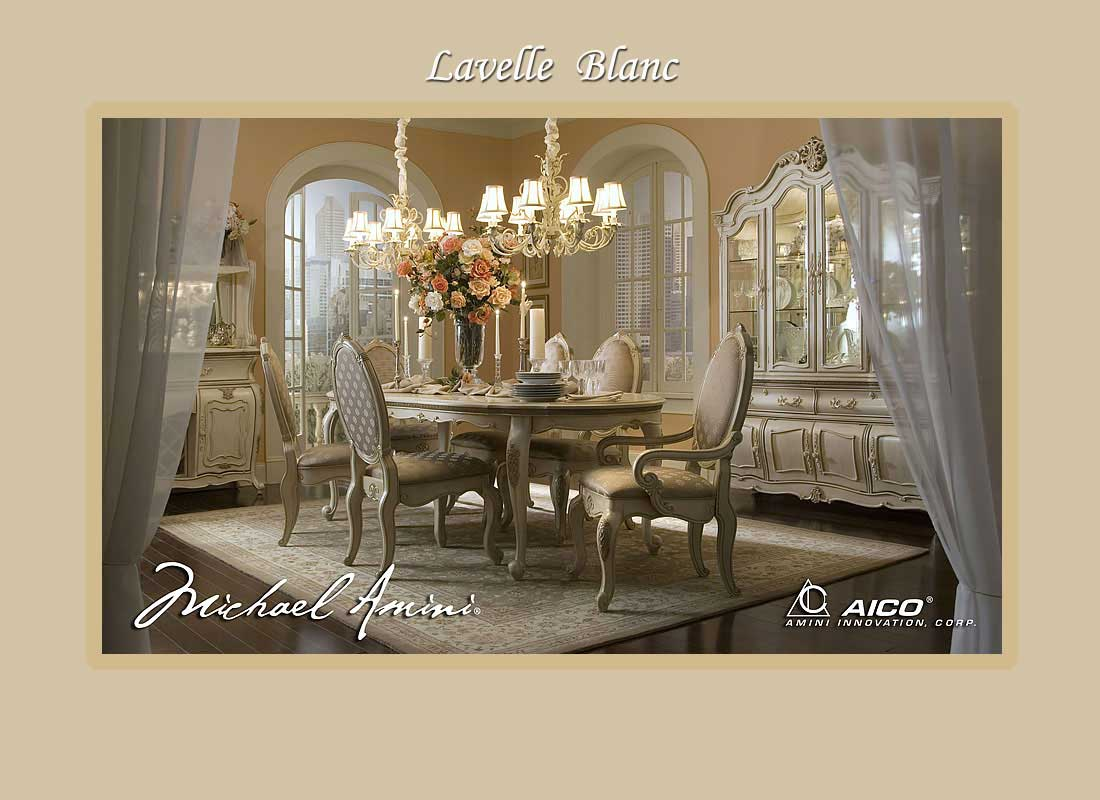 Lavelle Aico Dining Collection Aico Dining Room Furniture