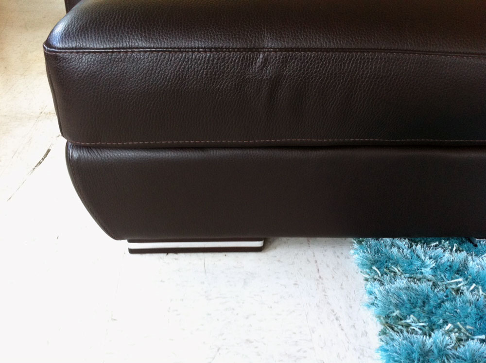Grace Nicoletti Top Grain Leather Sofa Leather Sectionals