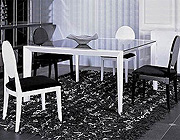 Contemporary Dining Table Set VG816