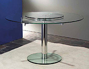 Modern Round Top Dining Table Circle