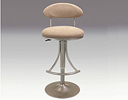 Silver gray bar stool CR102