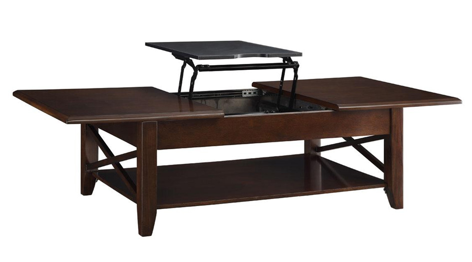 ... The Davis Rectangular Coffee Table With Lift Top Mechanism ...