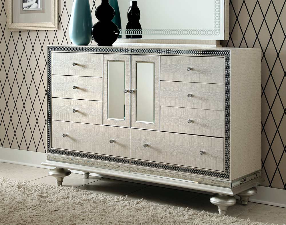 Hollywood Swank Pearl Dresser By AICO