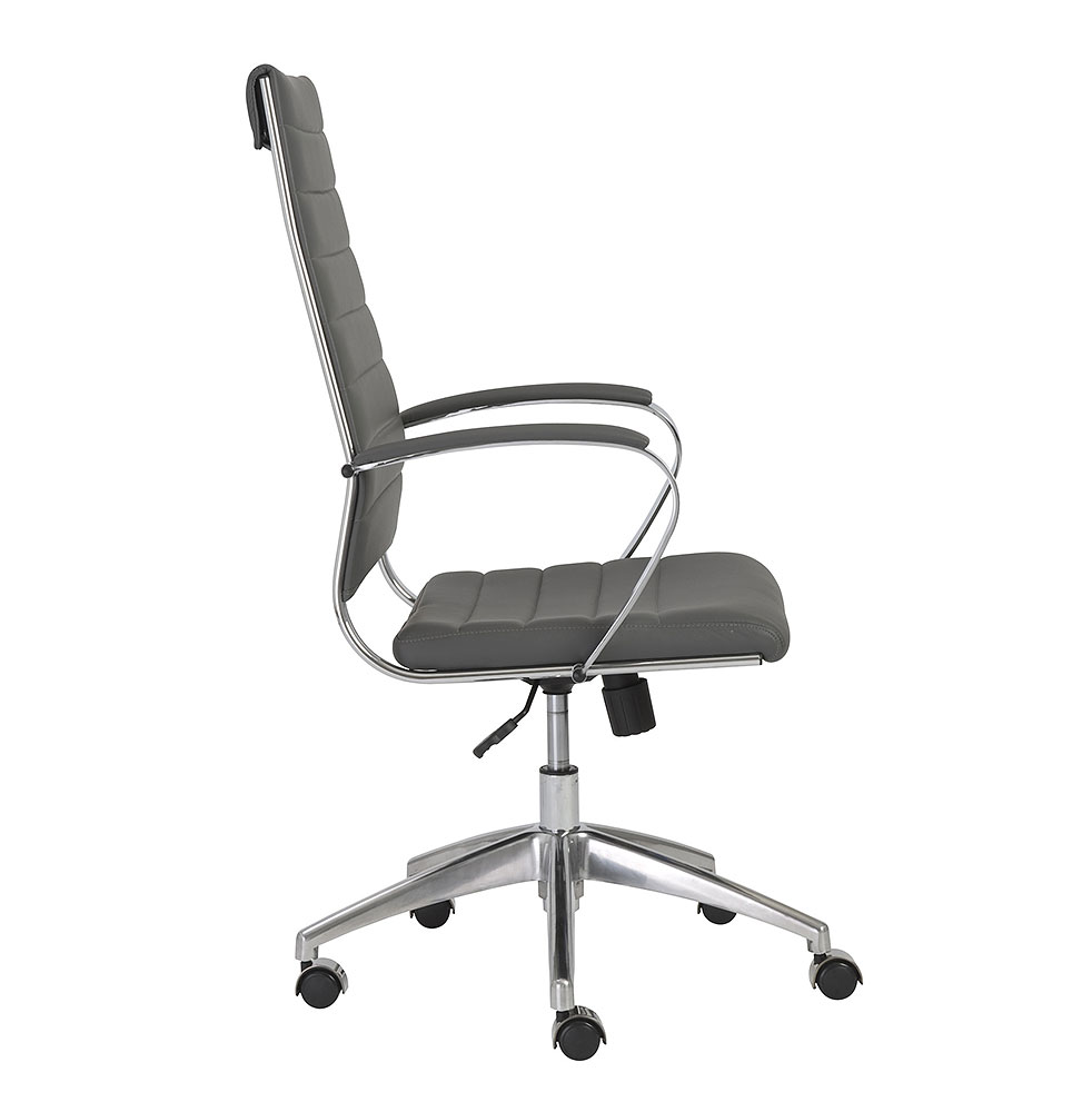 Axel High Back fice Chair in Grey