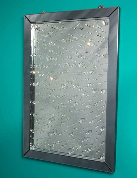 Crystal Wall Mirror montreal crystal wall mirror | accent mirrors