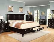 Traditional Black Bed W 608