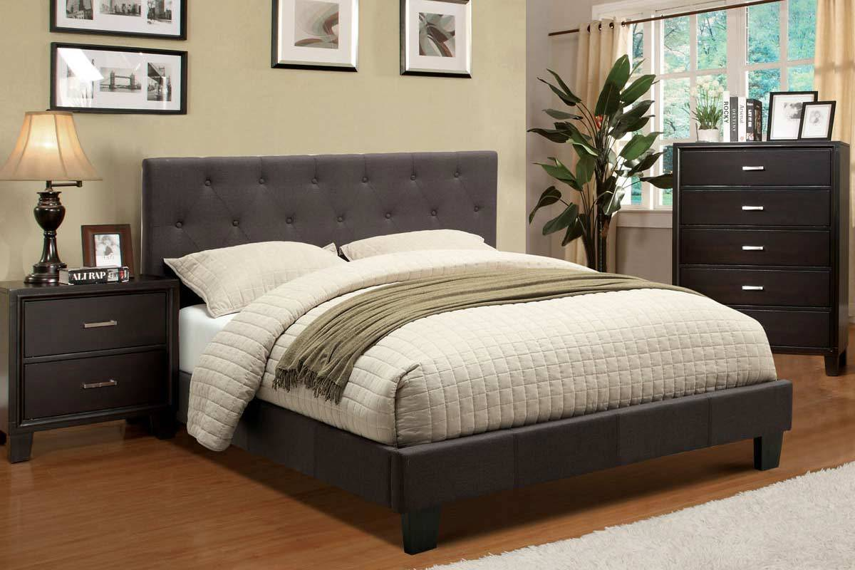 Lira Bed Foa Contemporary Bedroom