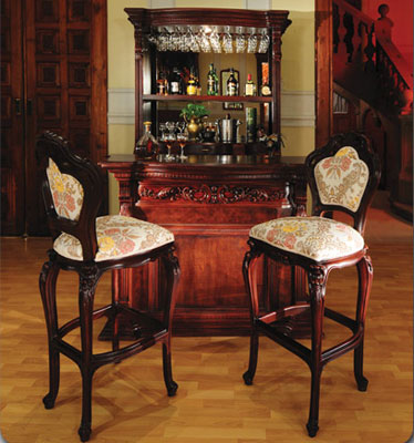 Luxury High end Classic French Provincial Bar Collection 18