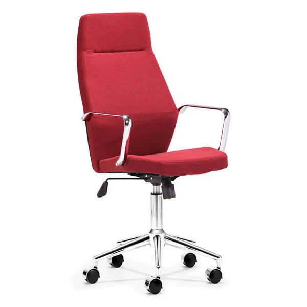 high back fabric office chair in red z 147 office chairs
